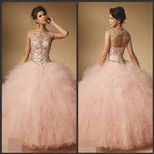light pink quince dresses luxury light pink ruffled tulle quinceanera dresses gowns