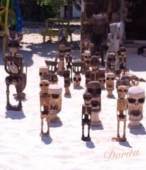 wood carvings for sale on seven mile in negril jamaica