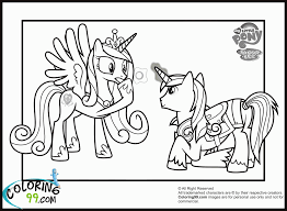 my little pony coloring pages princess cadence wedding kids coloring