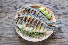 dorade cuisine grilled dorade royale fish stock photo alex9500 120123898