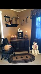 decorating primitive home decors black wooden entry table for