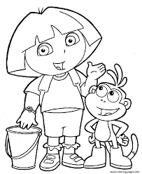 ask the question dora printable s58bb coloring pages printable