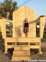 Big Beach Chair Mexico Beach Fl Giant Adirondack Chair