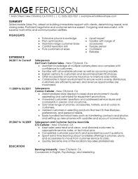 resume for retail jobs lukex co
