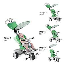 Smart Trike Recliner Smart Trike Recliner 4 In 1 Tricycle Green Toy In Oman See