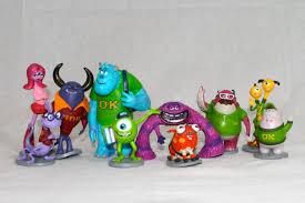 monsters university toys deluxe figurines disney store disney