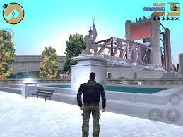 grand theft auto 3 why does the statue at the airport wear a