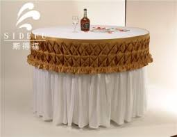 Round Decorative Table China Table Linen Manufacturers And Suppliers Table Linen