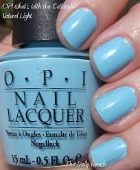 opi light blue nail polish opi what s with the cattitude the daily varnish