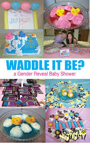 reveal baby shower bee ing gender reveal baby shower waddle it be