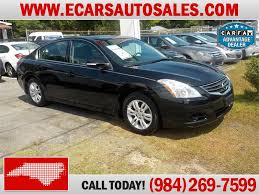 Nissan Altima Black Interior Nissans For Sale In Nc Used Car Dealers In North Carolina