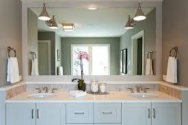 Modern Mirrors Bathroom Excellent Swing Arm Sconces On Vanity Mirror Transitional Bathroom