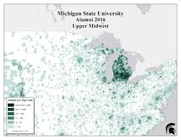Zip Code Map Of Chicago by Alumni Demographics U2014 University Licensing Programs