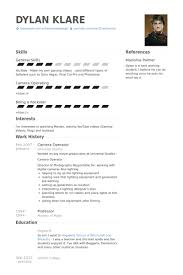 working student resume