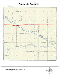 Michigan Township Map by County Of Midland Michigan U003e Equalization U003e Tax Maps U003e Greendale