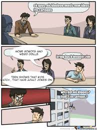 Boardroom Meeting Meme - meme center mr bubbles1258123 posts