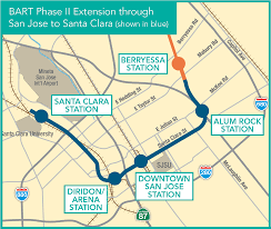 Map Of Bart Stations by The Economic Impacts Of Infrastructure Investment Bay Area