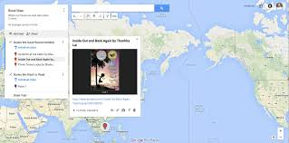 How To Map A Drive Make A Book Map With Google Maps U2013 Reading By Example