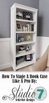 24 Inch Wide White Bookcase by Best 25 Living Room Bookshelves Ideas On Pinterest Small Living