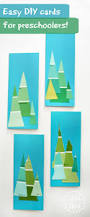 paint colour swatch tree cards that little kids can make u2013 danya