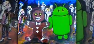 android gingerbread how to find the gingerbread droid robot in your android
