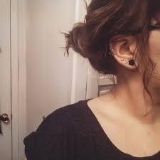 heart cartilage earring lobe cartilage on we heart it