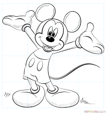 coloring pages pretty draw mickey mouse 16 coloring