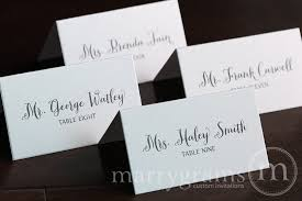 wedding place cards cards for wedding reception place card thick style