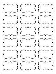 i use the free blank label templates from this site by printing