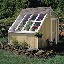 Garden Shed Greenhouse Plans Amazon Com Handy Home Products Phoenix Solar Shed With Floor 10