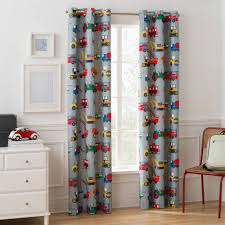 mainstays kids busy cars boys bedroom curtain panel walmart com