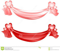 s day swag ribbons and bows royalty free stock photo