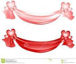ribbons and bows s day swag ribbons and bows royalty free stock photo
