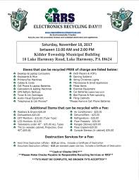 electronics collection programs