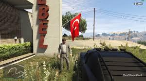 Flag Com Rebel Turkish Flag Mod Gta5 Mods Com