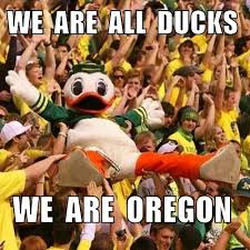 Oregon Ducks Meme - oregon duck and marching band perform gangnam style video