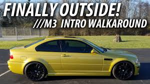 Bmw M3 Yellow Green - 2005 e46 bmw m3 intro walkaround phoenix yellow metallic youtube