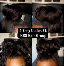 knappy hair extensions 4 super easy updo hairstyles ft knappy hair extensions youtube