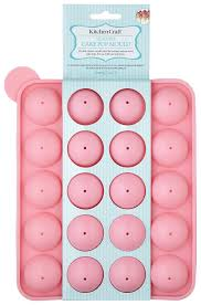 cake pops sweetly does it 20 silicone cake pop mould pink co uk