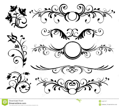 line rule ornaments stock vector illustration of 12963318