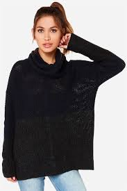 navy sweaters cozy navy blue sweater grey color block sweater cowl neck