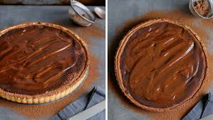 day chocolate chocolate cheese tart with chocolate ganache cupcakes and