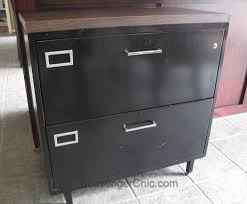 Lateral Metal File Cabinets Metal File Cabinet Gets A Architectural Style Makeover Hometalk