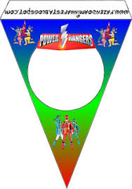 power rangers free party printables images backgrounds