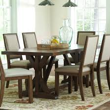 craftsman style dining room table buy bridgeport rustic craftsman base dining table by coaster from