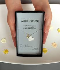 godmother gifts to baby godmother necklace will you be my godmother gift baptism gifts