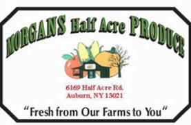 morgan s farm to table morgan s half acre produce