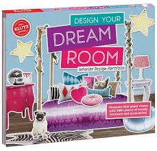 amazon com klutz design your dream room toy klutz toys u0026 games