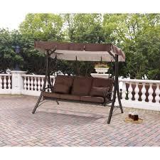 lowes patio swing ideas glider swing front porch swings lowes patio swing