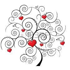 tree on white background designs